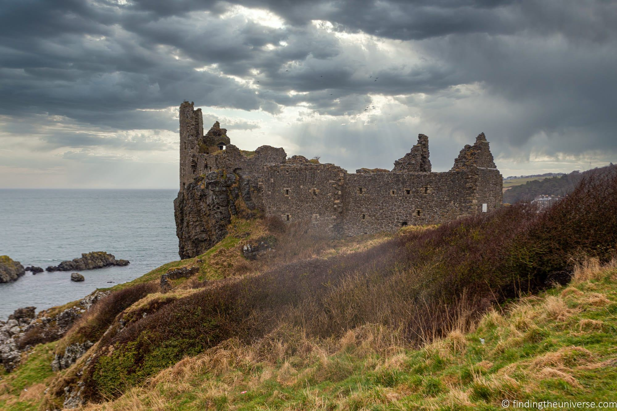 Outlander Filming Location – Dunure Castle