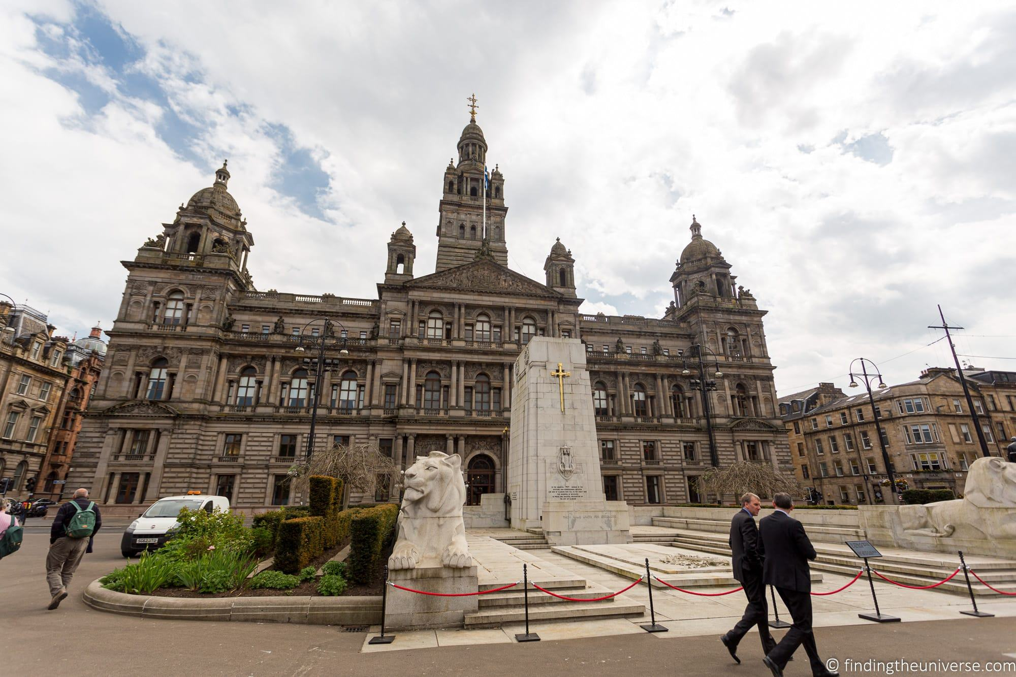 Outlander Filming Location – Glasgow City Chambers
