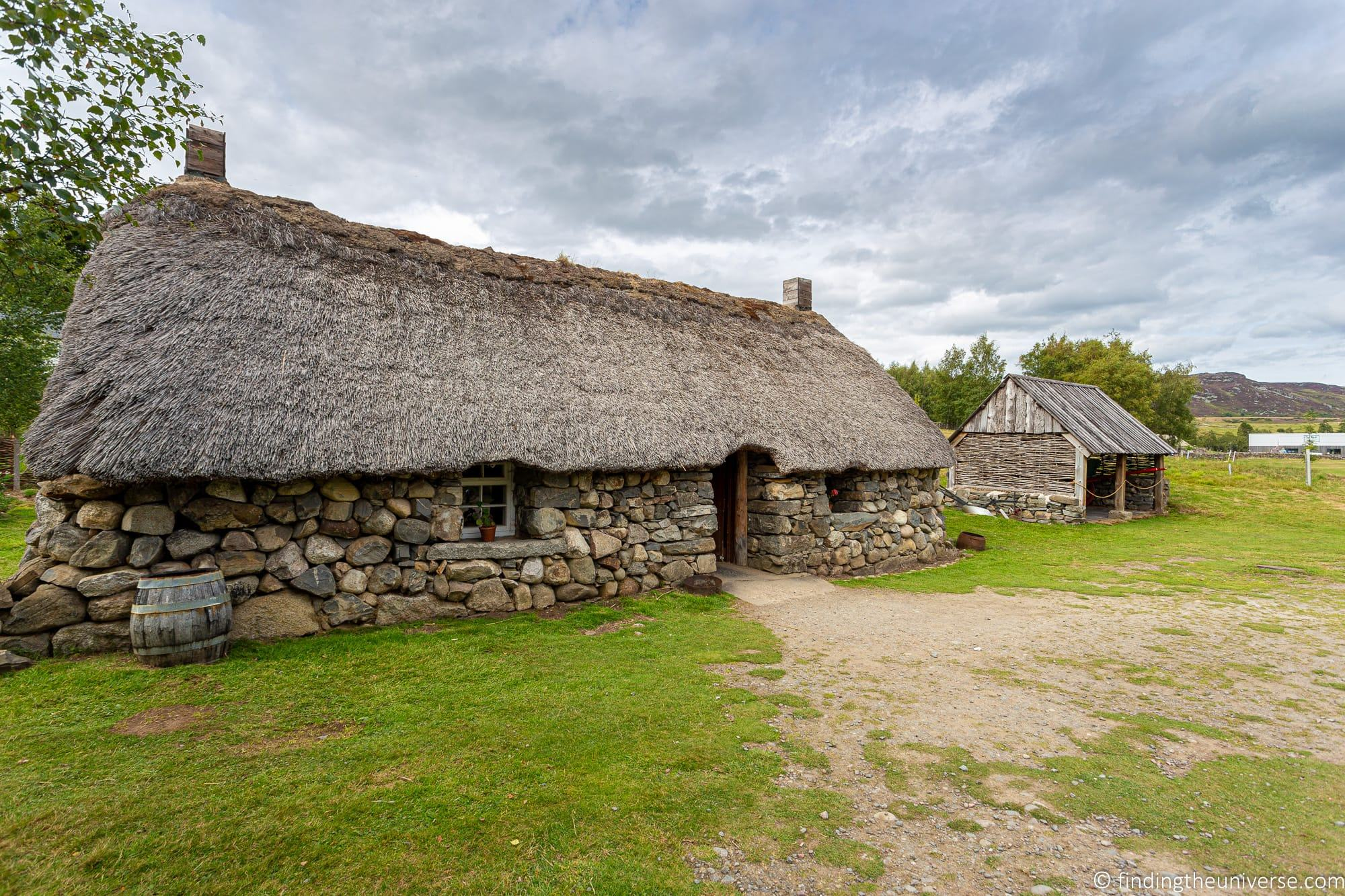 Outlander Filming Location – Highland Folk Museum