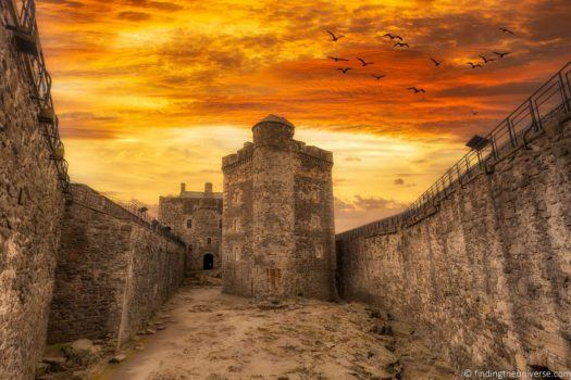 Outlander filming locations Scotland Blackness Castle