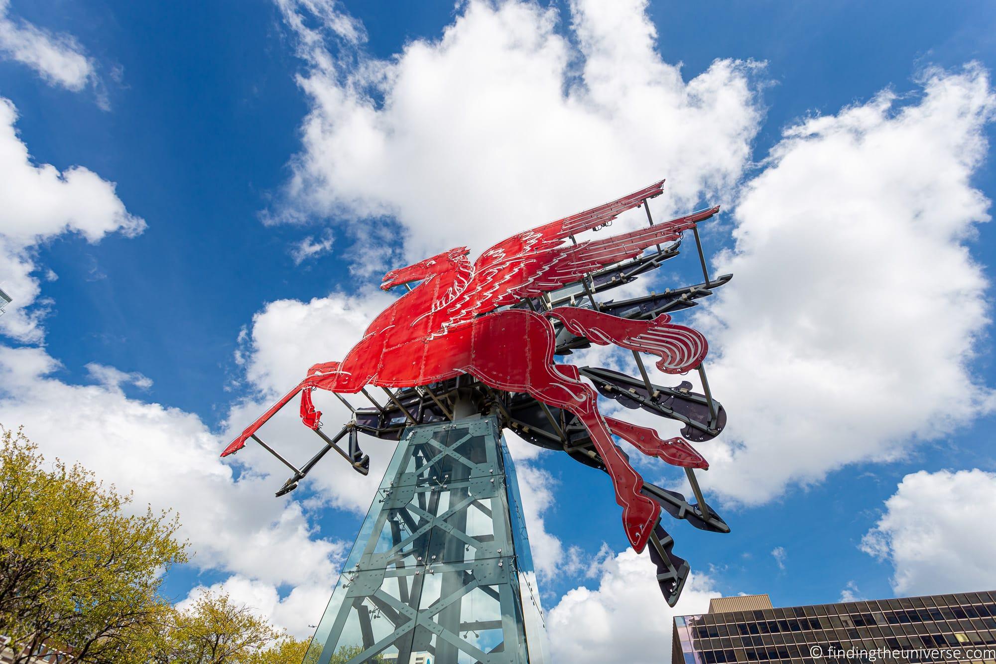 Big Red Horse
