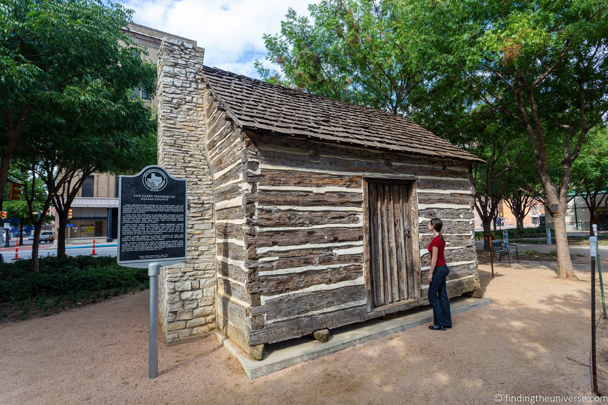John Neely Bryan Log Cabin Dallas