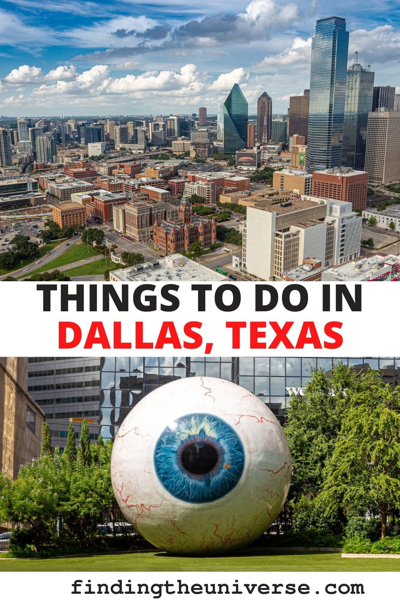 A detailed guide to things to do in Dallas Texas. All the top attractions, plus tips on getting around, where to stay and saving money!