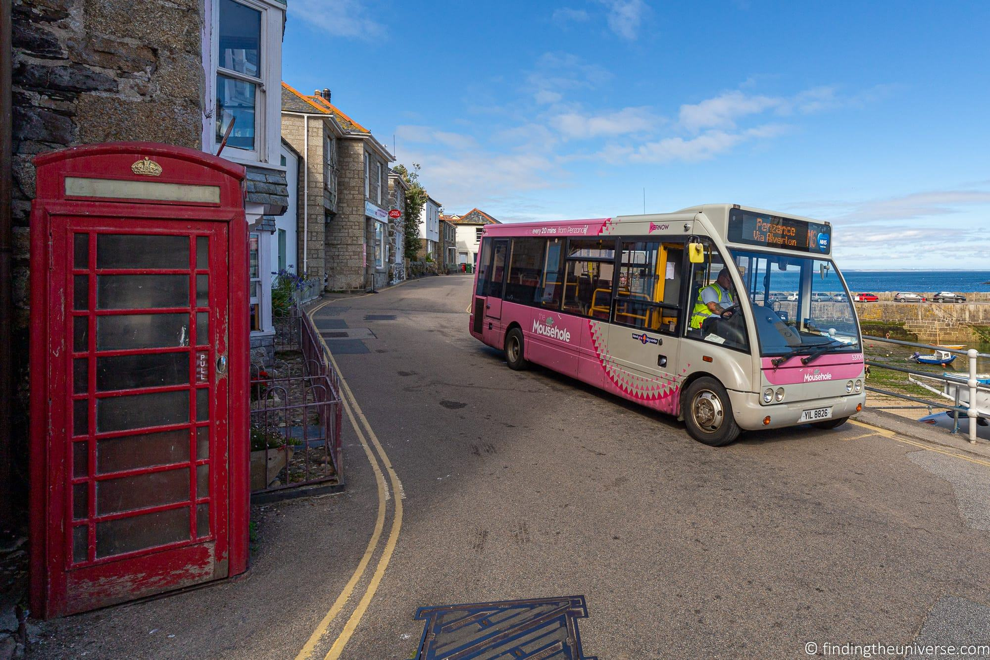 Local bus Cornwall