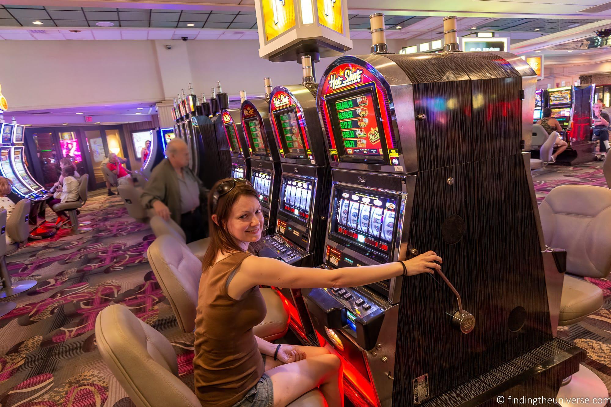Casino slot machines Las Vegas