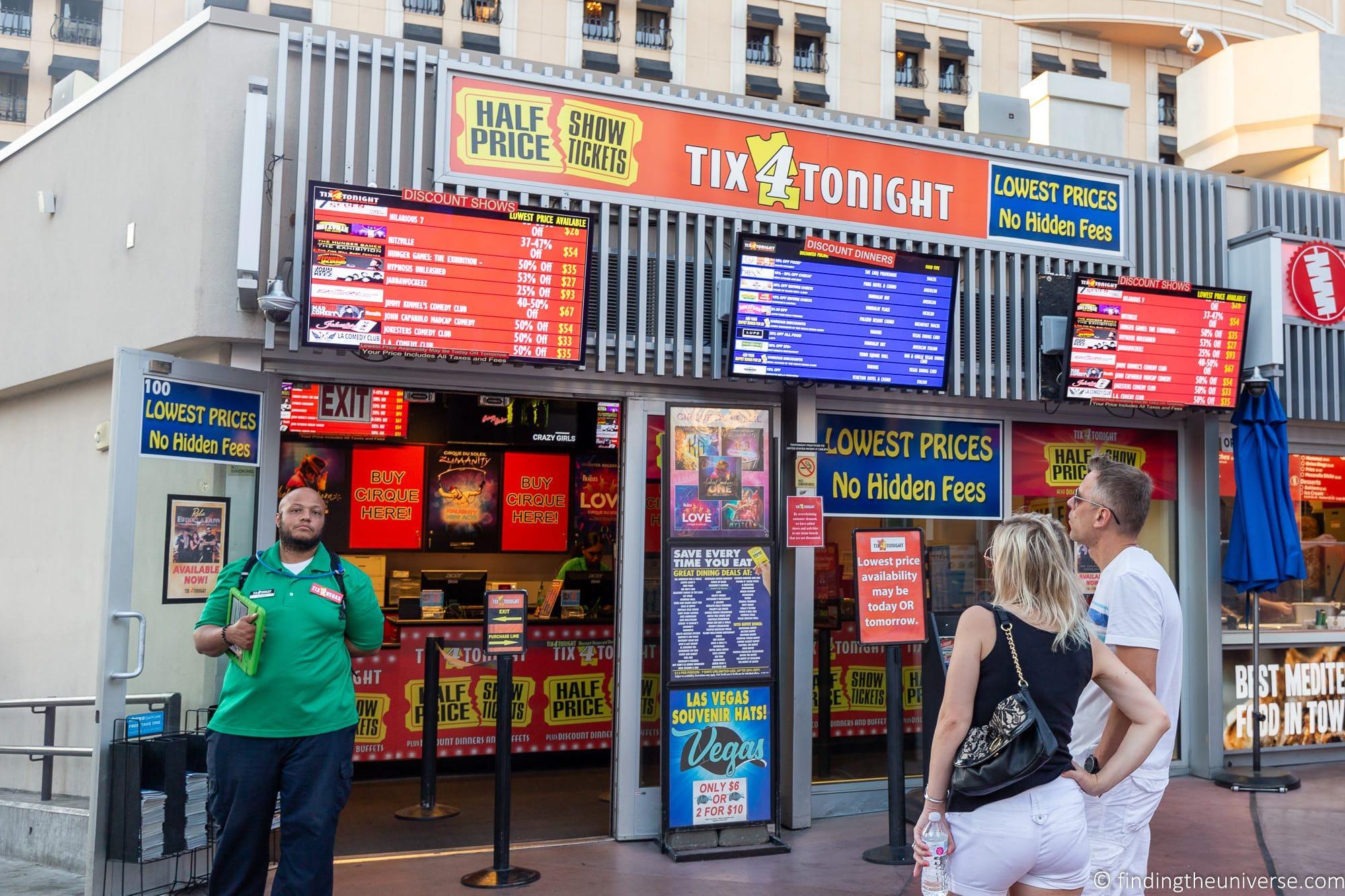 Cheap show tickets Las Vegas