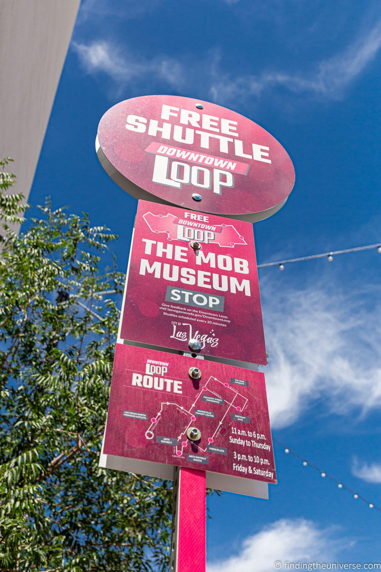 Free Loop Shuttle Las Vegas