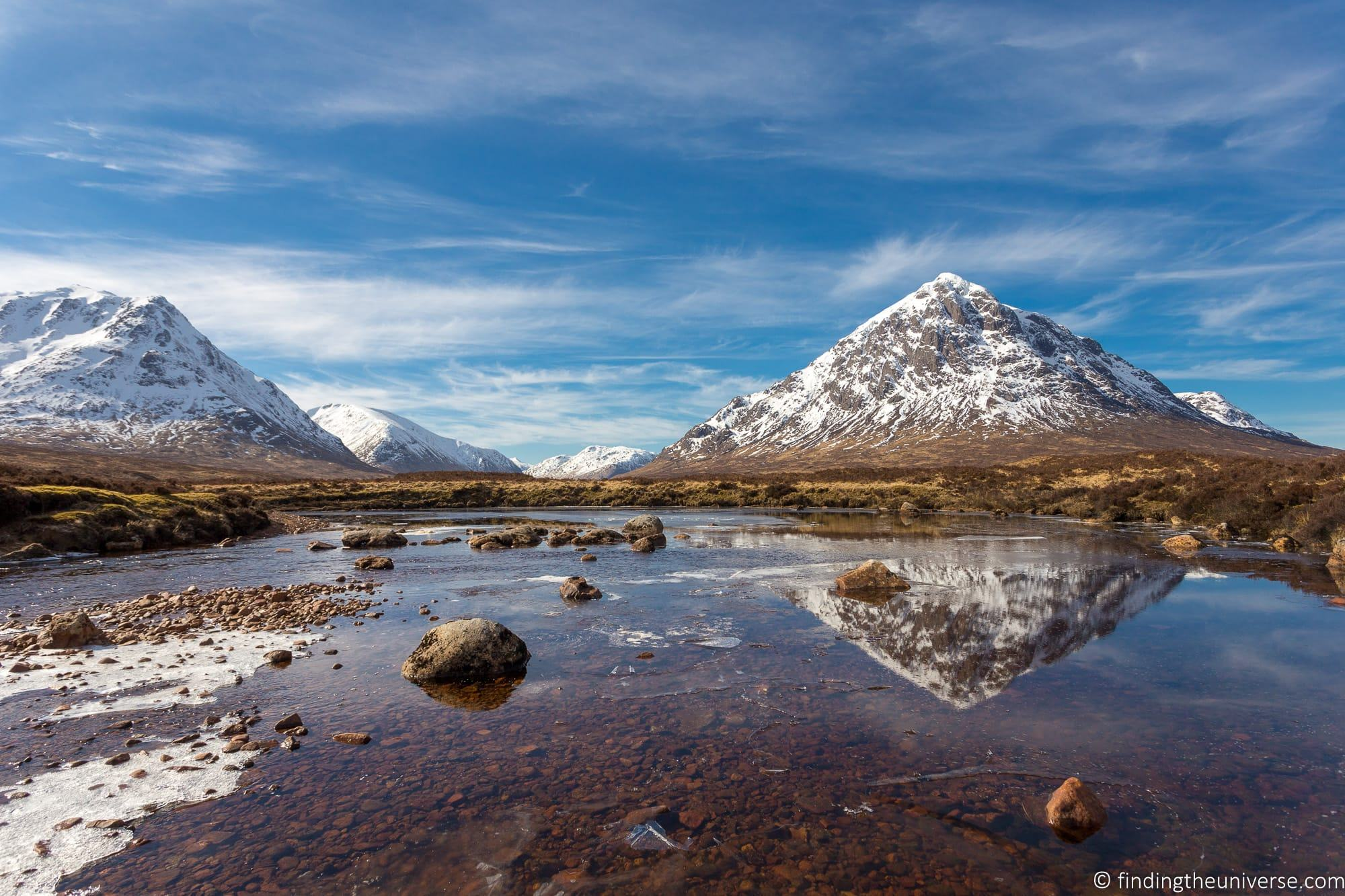 Glencoe Scotland in Winter