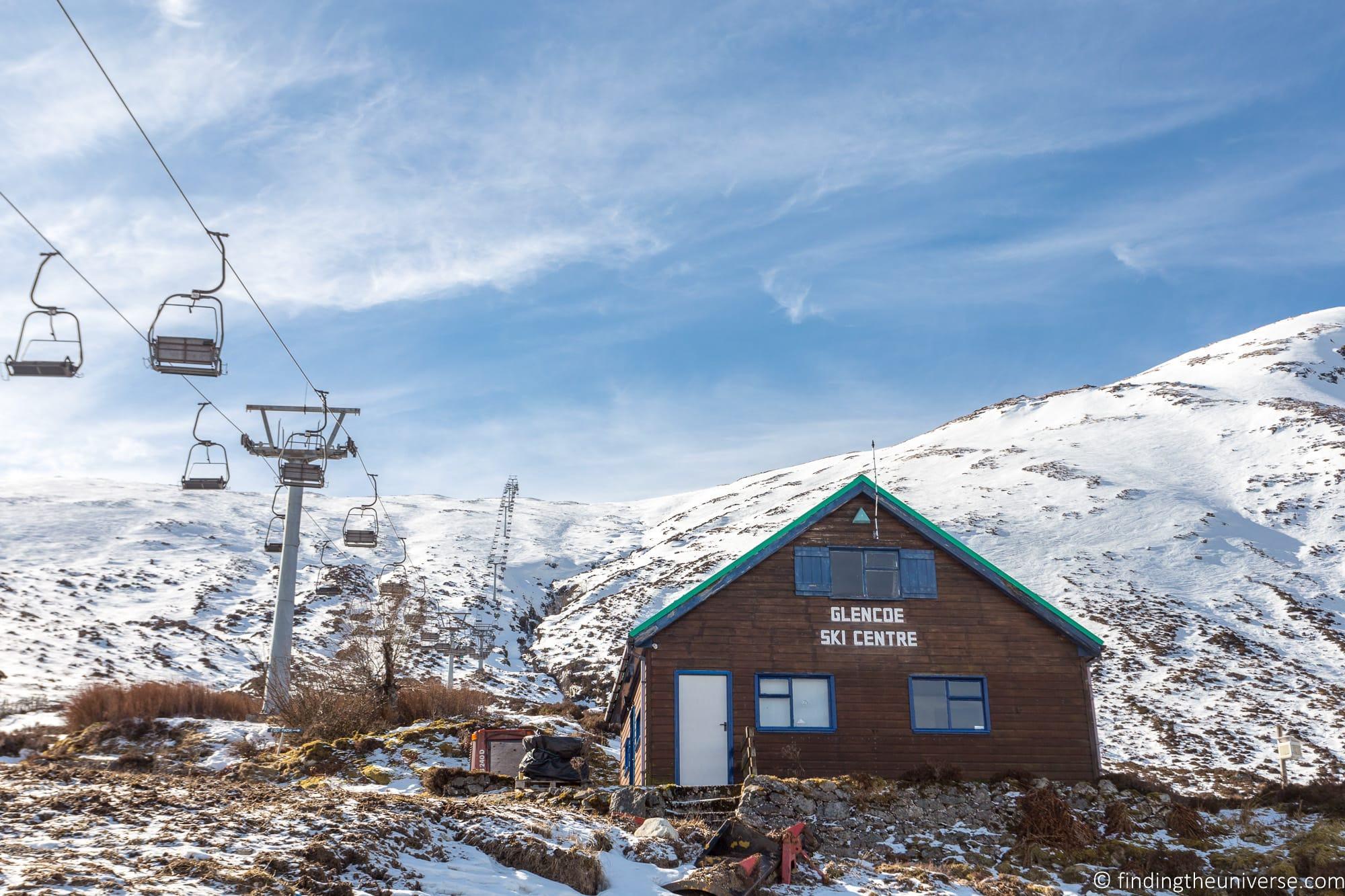 Glencoe Ski Centre Lifts