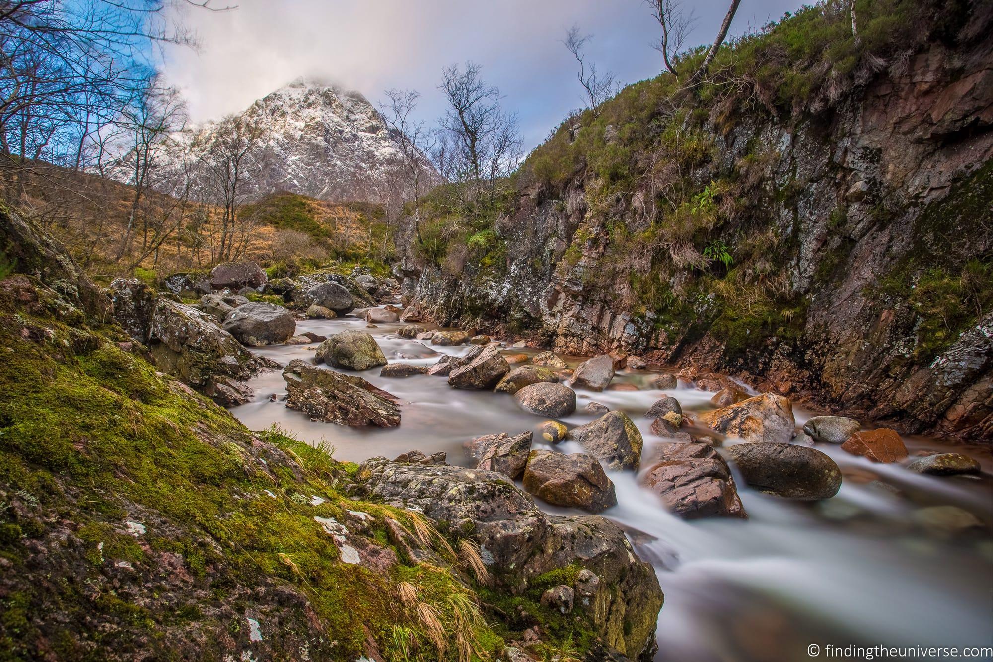 Glencoe river