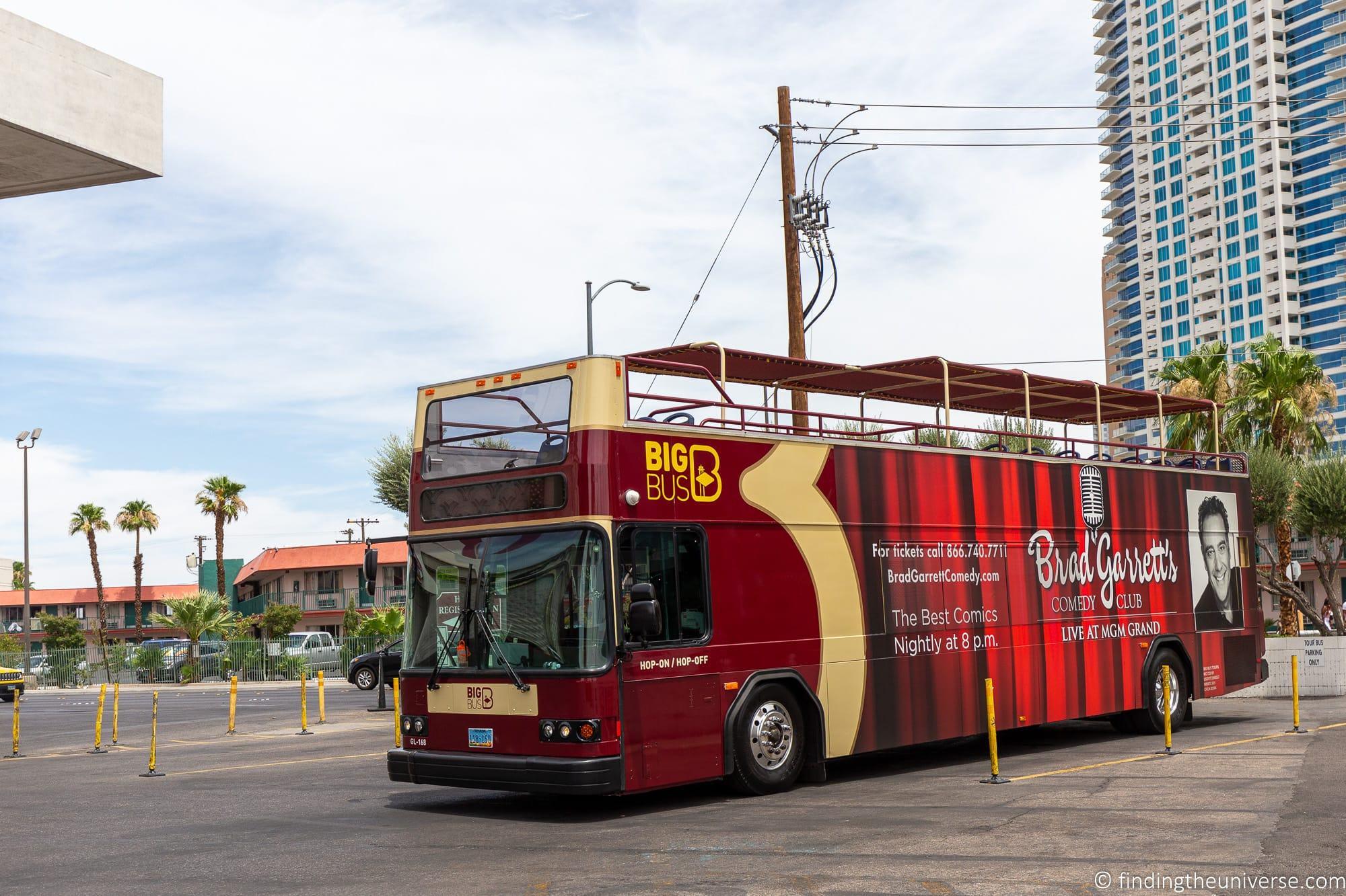 Hop on Hop off bus Las Vegas