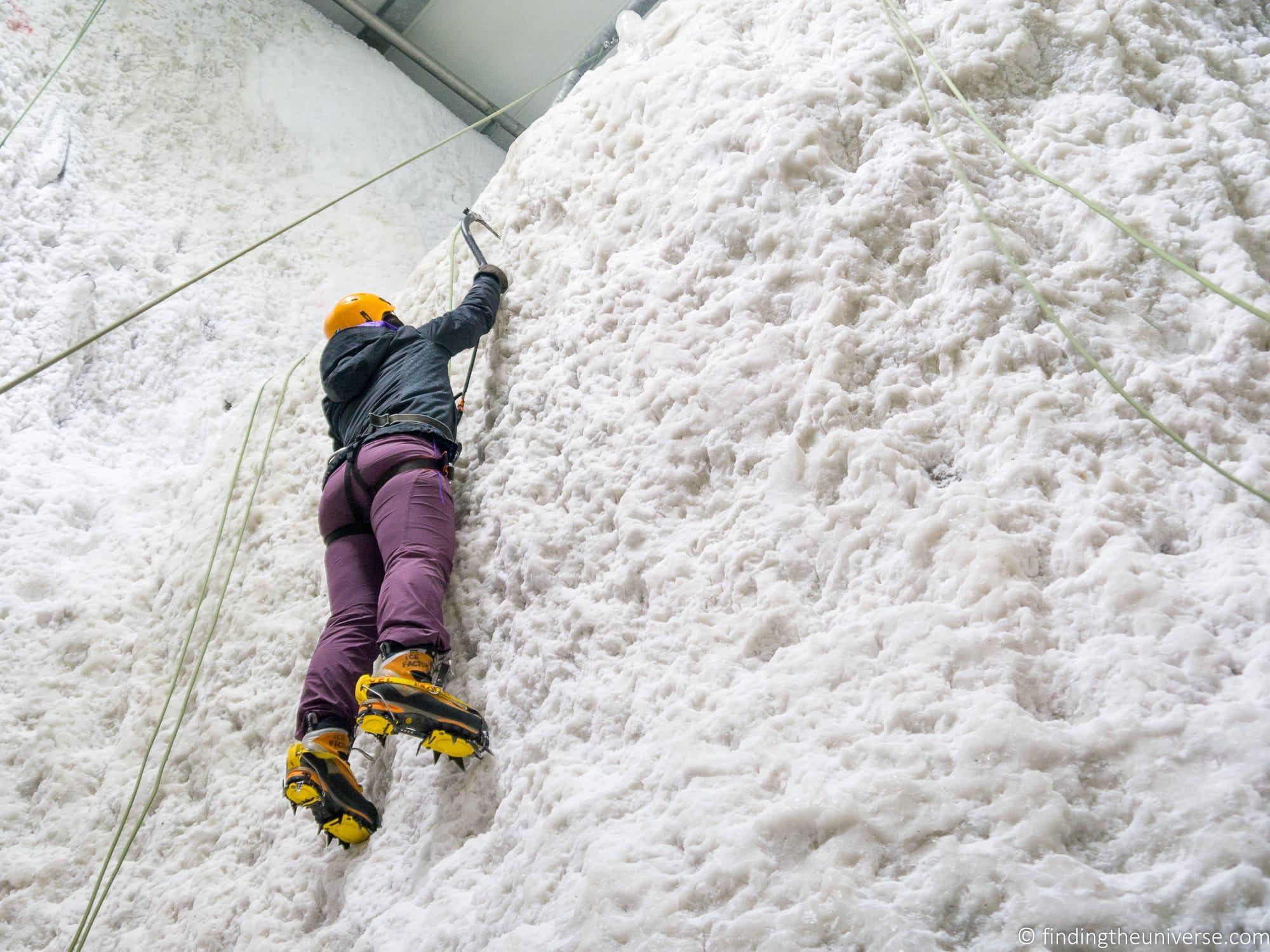 Ice Factor Glen Coe Scotland