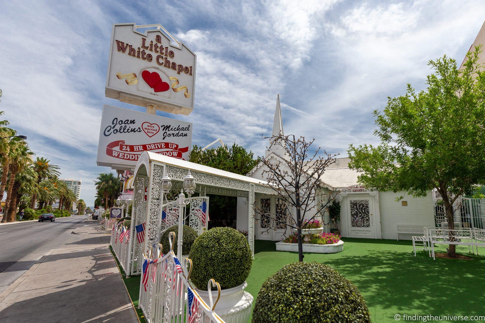 Little white chapel Las Vegas