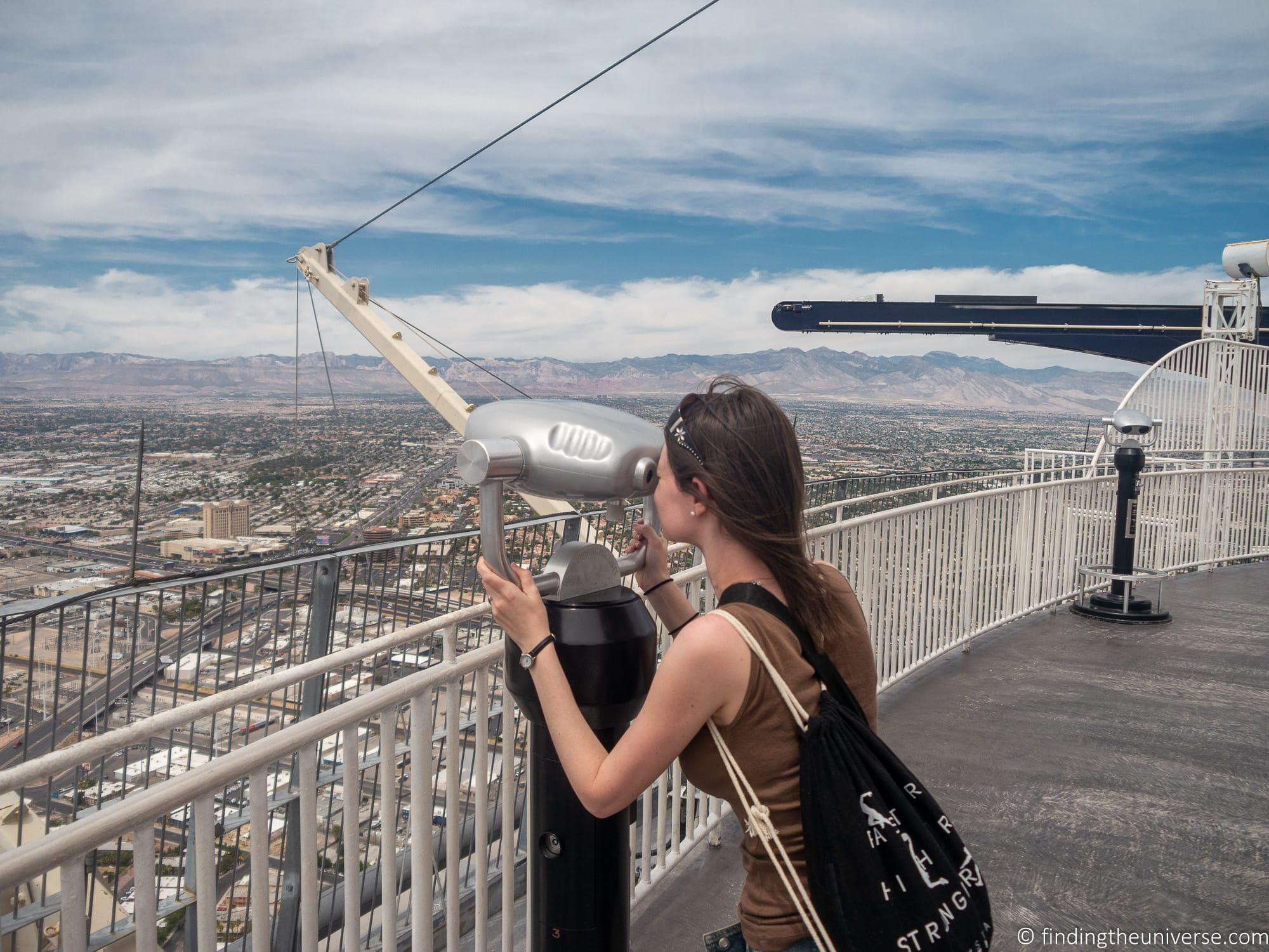 Strat observation deck Las Vegas
