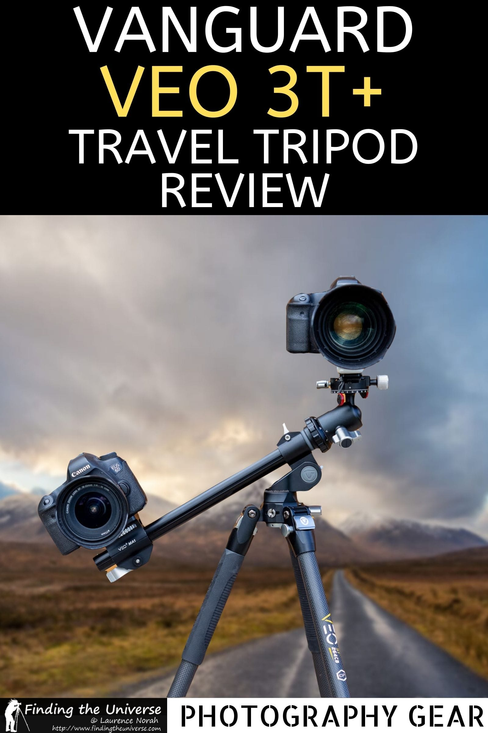 A review of the Vanguard VEO 3T+ 264CB travel tripod. Everything you need to know to decide if this carbon fibre travel tripod is for you!