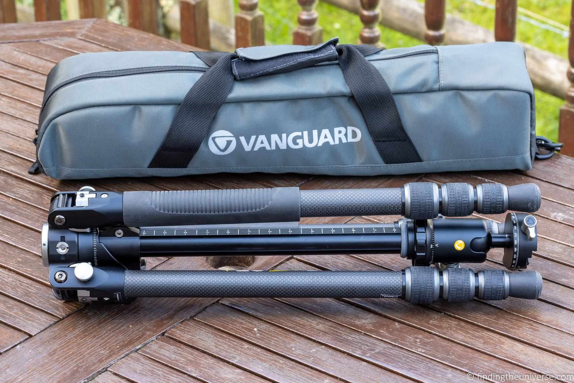 Vanguard VEO 3T+ 264CB Travel Tripod Review