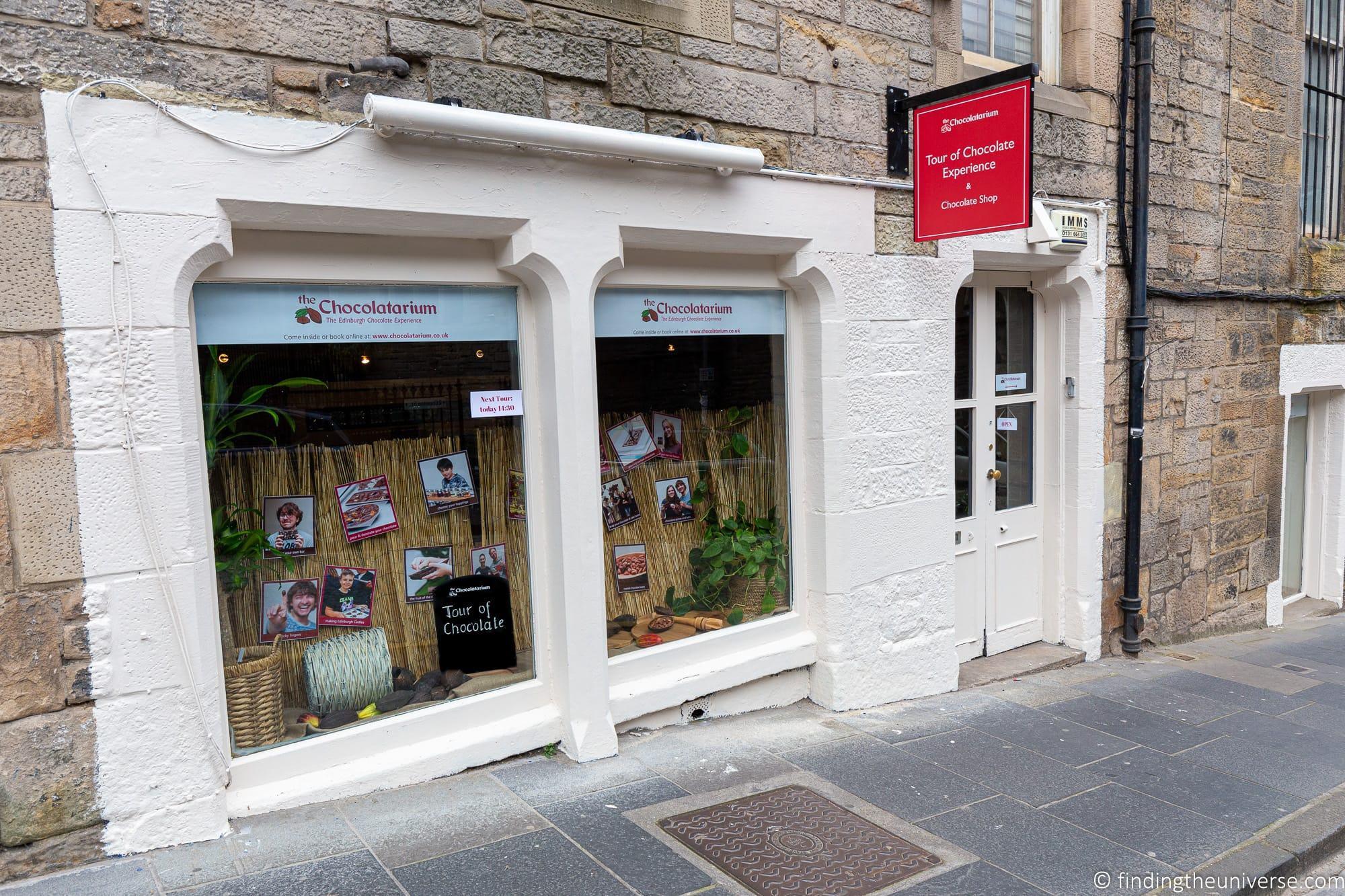 Chocolatarium in Edinburgh