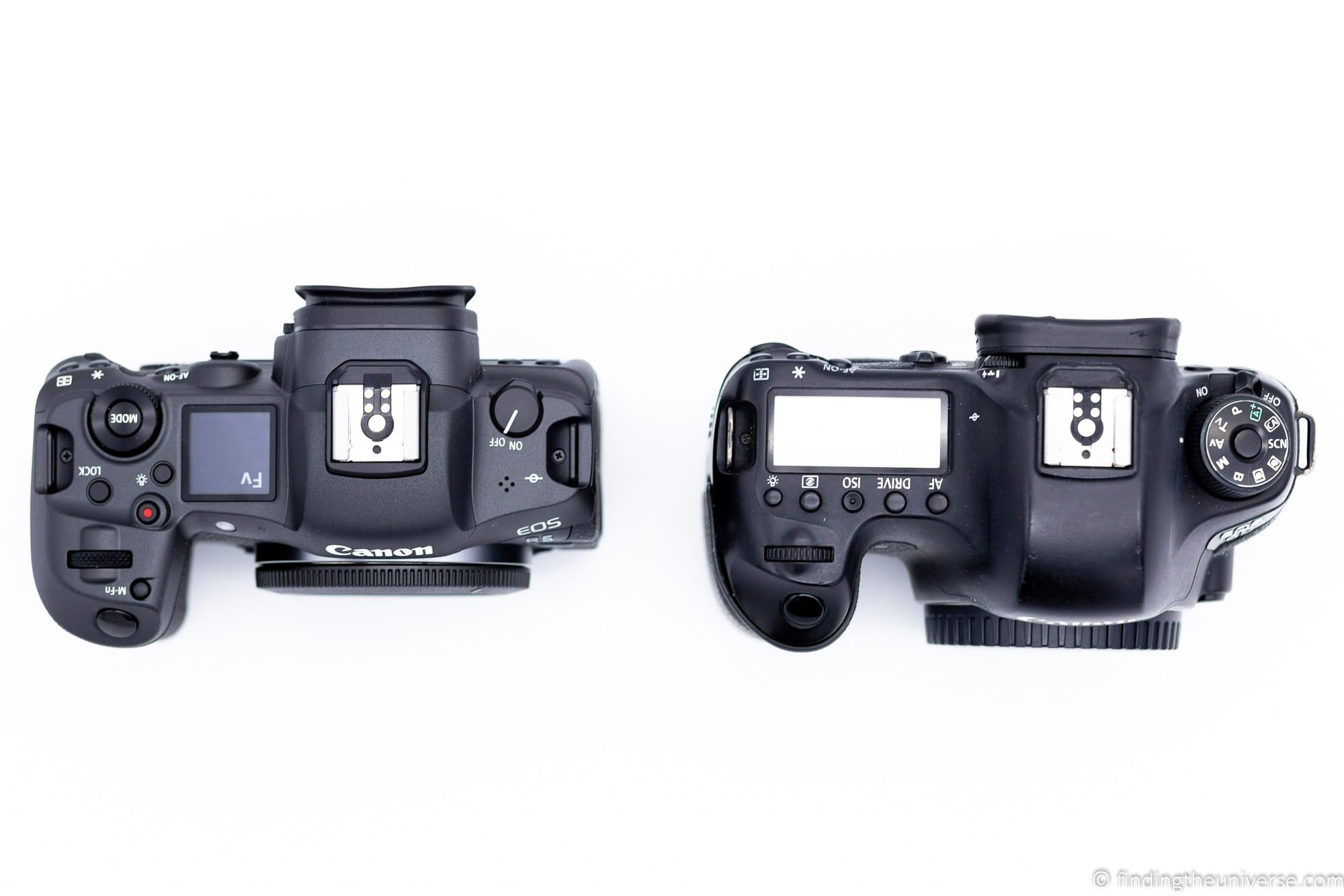 EOS R5 vs EOS 6D