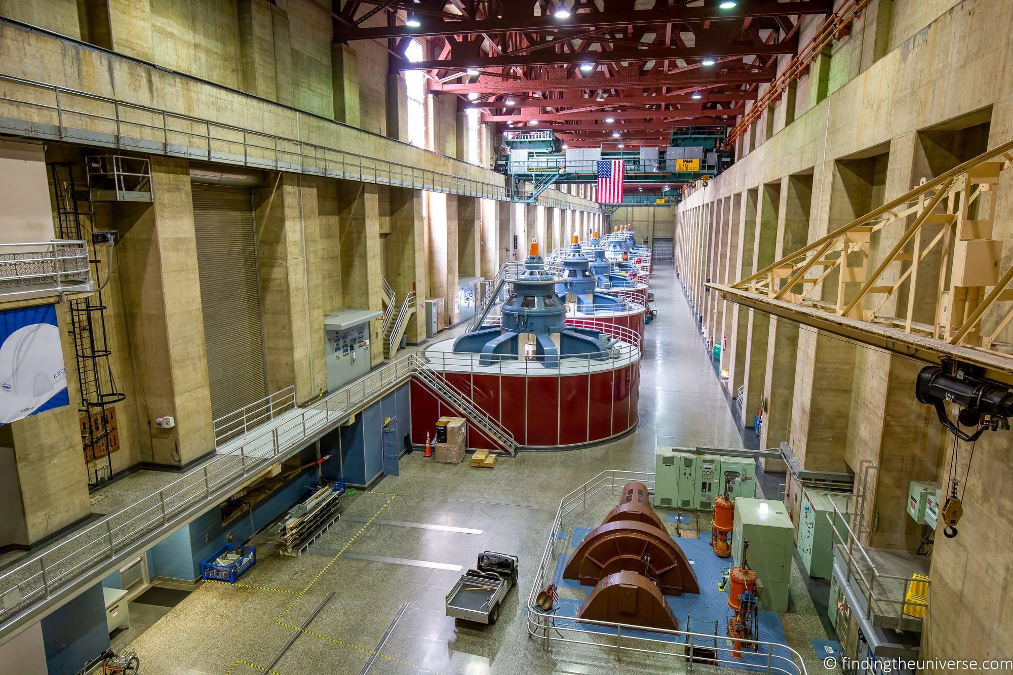 Hoover Dam Turbine Room