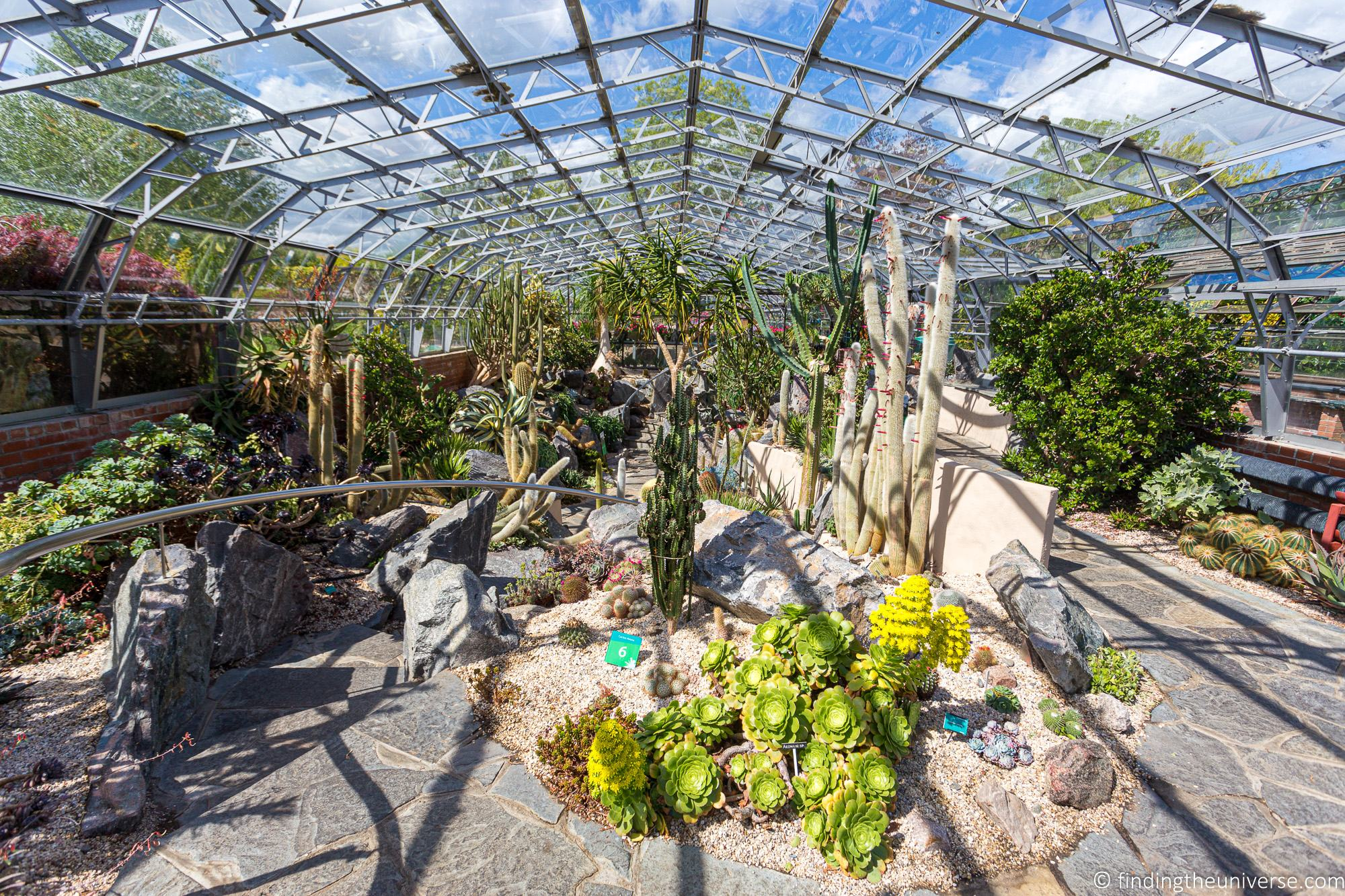 Cactus House Inverness Botanical Garden