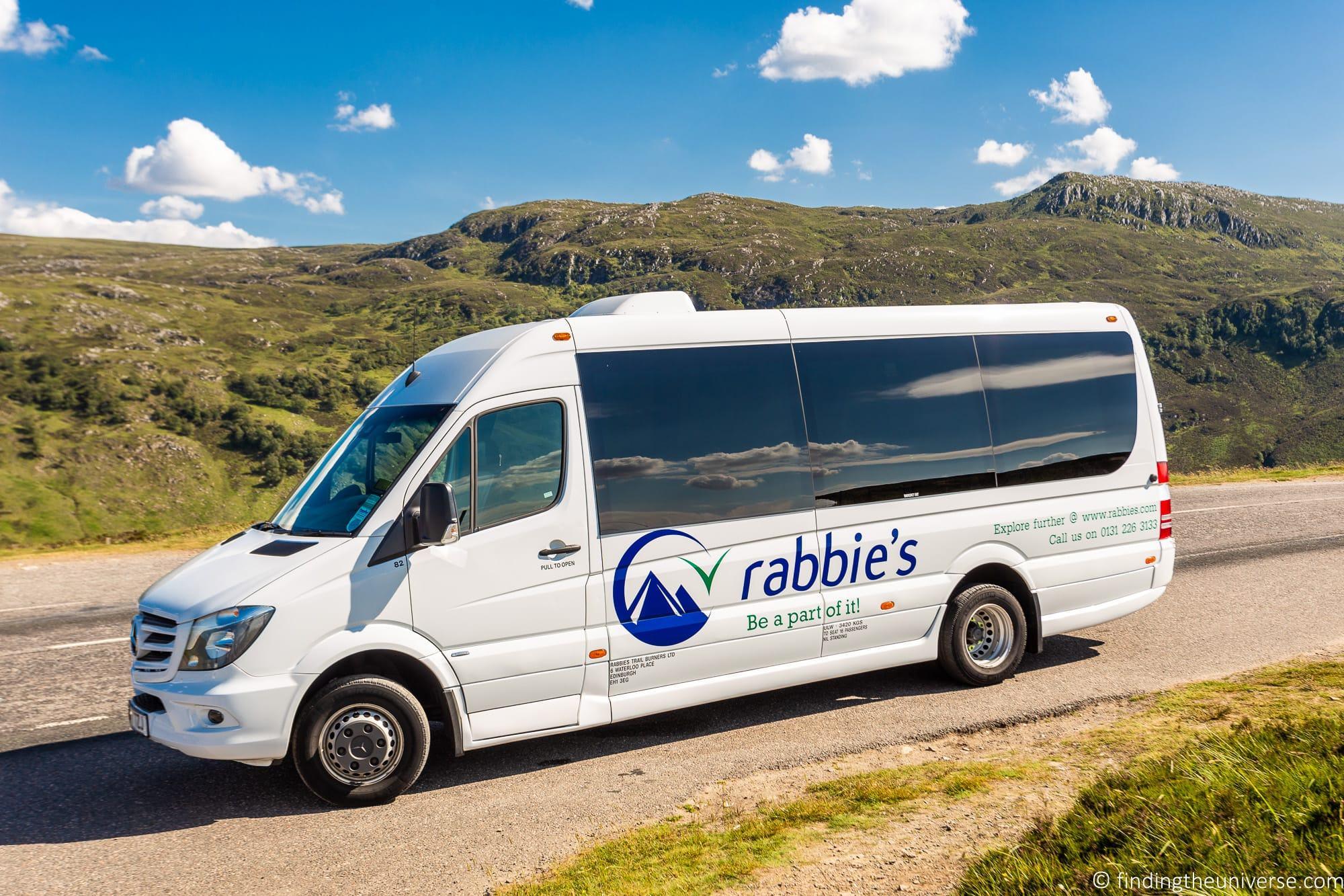 Rabbie's bus