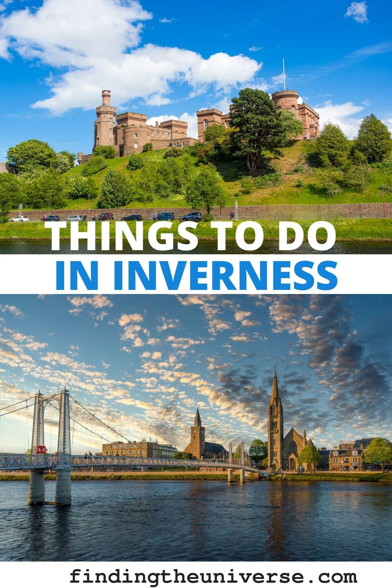A detailed guide to things to do in Inverness. All the highlights in the city plus attractions near Inverness as well as planning tips